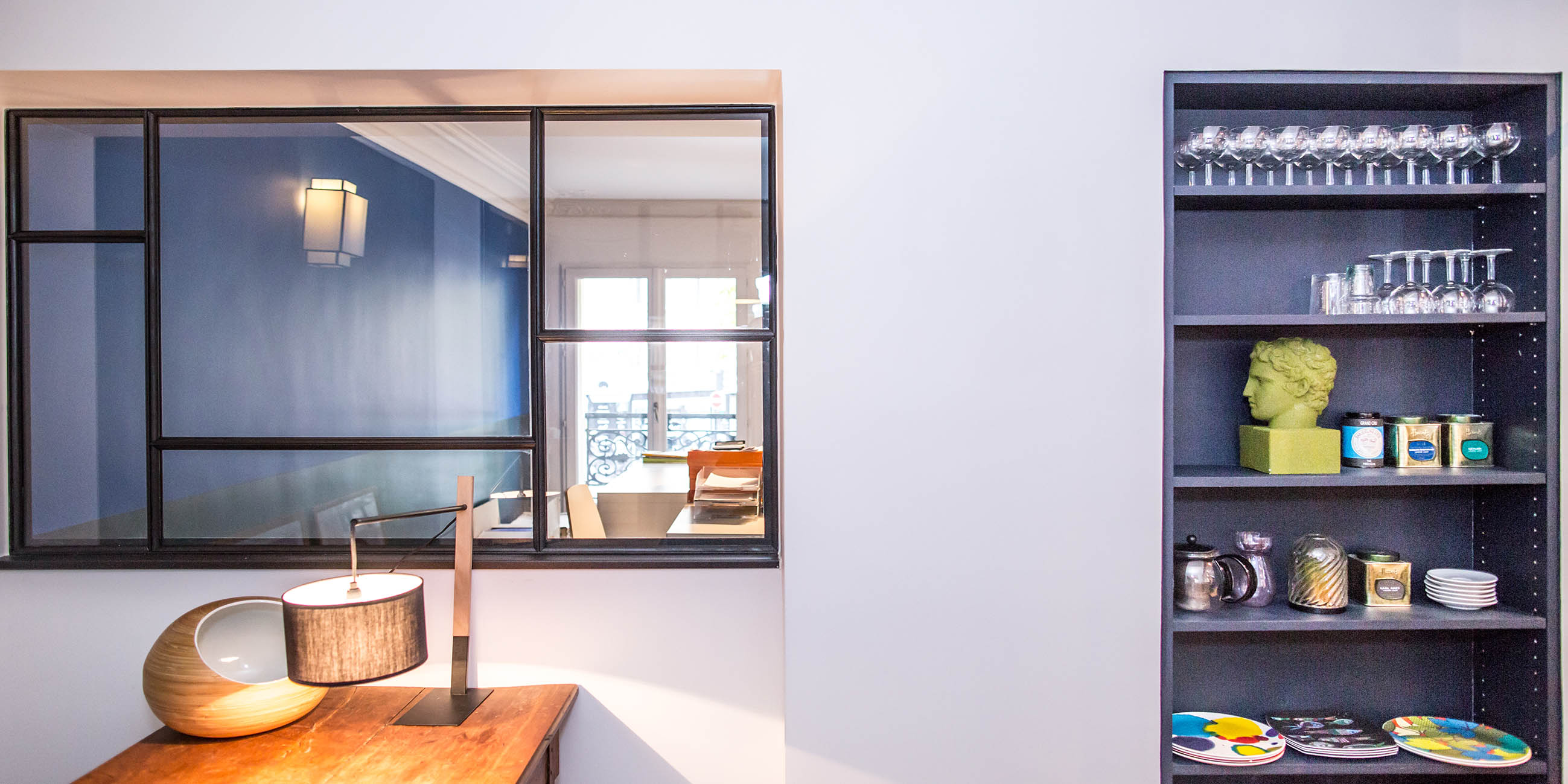 Des bureaux hauts en couleur