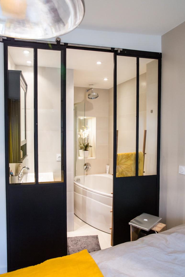 Petite salle de bain dans chambre good chambre ideas about petite salle de b - Petite salle de bain dans chambre ...